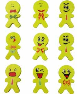 Emoji People Shaped Eraser